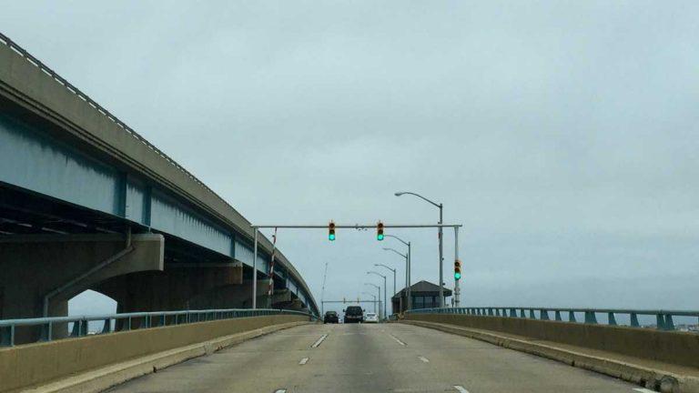 The Mathis Bridge in June 2015. (Photo: Justin Auciello/for NewsWorks)