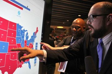 Christian Ucles of Iowa projects how the 2016 presidential election will play out state-by-state