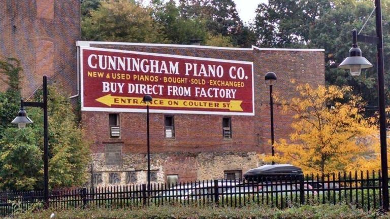 Cunningham Piano Co. is located on Germantown Avenue near Coulter Street. (NewsWorks, file art)