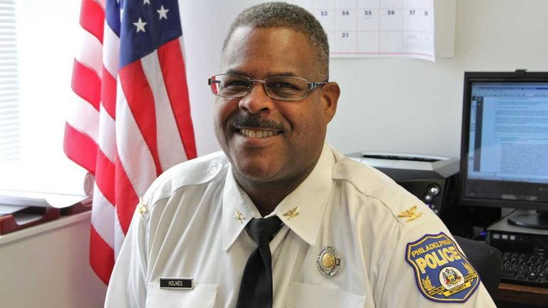Check out a story on the Philadelphia School District's top cop, Chief Inspector Carl Holmes. (Emma Lee/for NewsWorks)