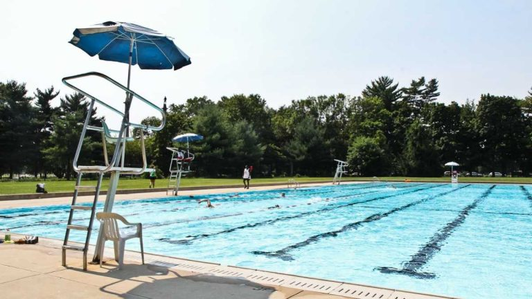 The John B. Kelly Pool is the largest of the city's 70 public pools. (NewsWorks file photo)