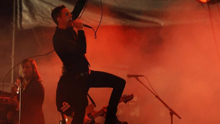 The Killers will close out the 2015 Firefly Festival this June in Dover.(Chris Pizzello/AP Photo)