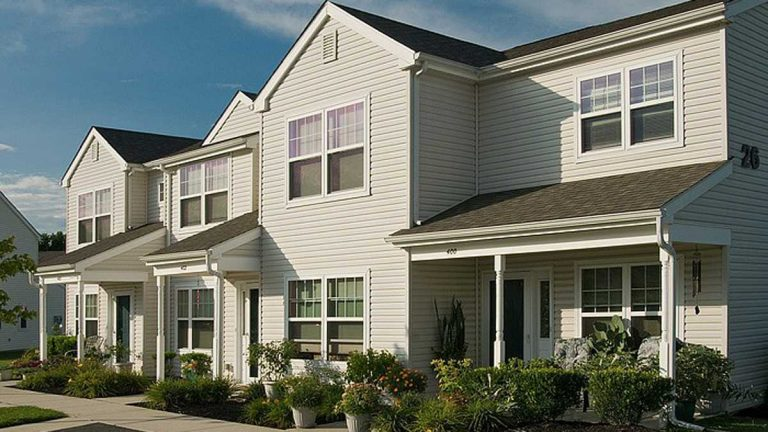 The Ethel R. Lawrence Homes was the first affordable housing complex built in the suburbs under the Mt. Laurel Doctrine. (Mark Lozier/Fair Share Housing Development)