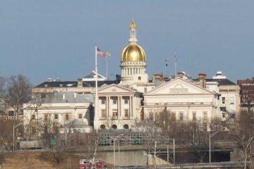 Trenton State Capitol building. (Alan Tu/WHYY)