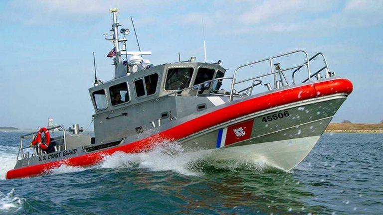 A 45-foot US Coast Guard response boat. (File photo: U.S. Coast Guard/Petty Officer Patrick D. Kelley)