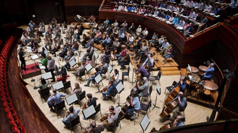 Philadelphia Orchestra musicians went on strike Friday evening as the audience waited for the Opening Night Gala performance. (AP file photo)