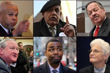 All six Democratic mayoral candidates will sit down with Radio Times host Marty Moss-Coane for an hour-long one-on-one interview. (NewsWorks, file art)