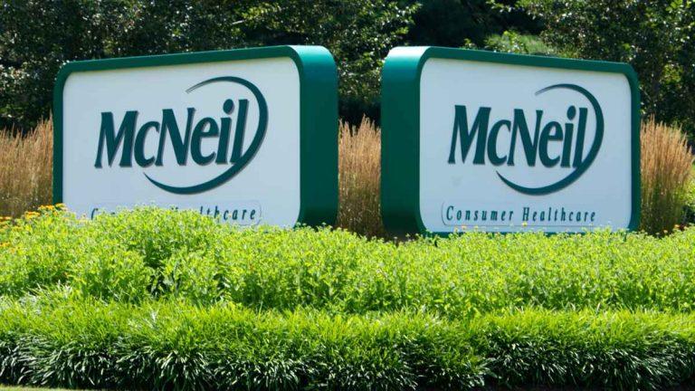 Johnson & Johnson's McNeil plant in Fort Washington, Pa. (Nathaniel Hamilton/for NewsWorks)