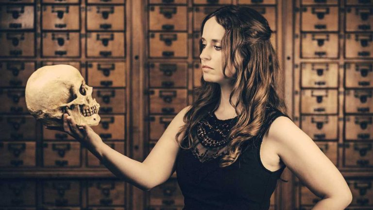 Megan Rosenbloom, co-founder of Death Salon, says the event offers a way of considering mortality. The Muuter Museum in Philadelphia will host the international gathering, a first for the East Coast, Monday and Tuesday. (Photo by <a href=
