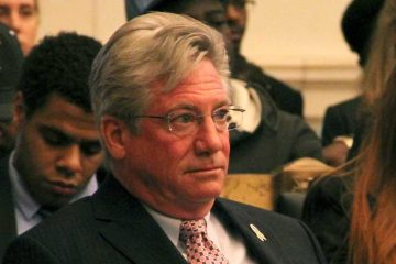 Philadelphia City Councilman Dennis O'Brien's bill to increase the capital funding to fix up police facilities has been delayed for at least a year. (WHYY file photo)