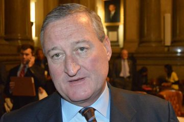 Mayoral candidate Jim Kenney has major concerns about the Philadelphia School Partnership $25 million offer. (Tom MacDonald/WHYY)