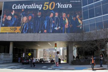 Community College of Philadelphia and Rutgers University Camden are joining to help the community college students easily transfer to the Camden university to pursue their bachelor degrees. (Emma Lee/WHYY)