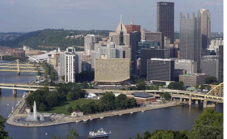 Point State Park, Pittsburgh, Pa (AP Photo/Keith Srakocic, file)
