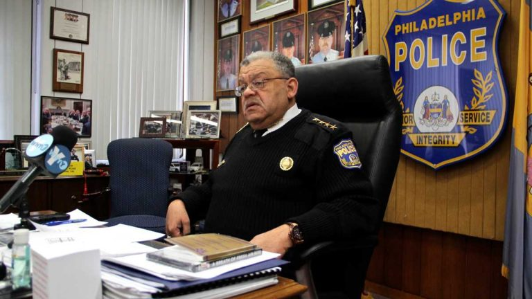 File photo: Philadelphia Police Commissioner Charles Ramsey. (Emma Lee/WHYY)