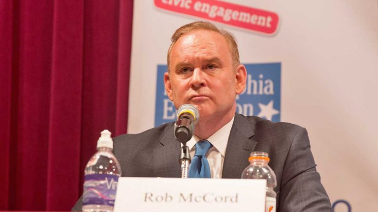 Pennsylvania State Treasurer Rob McCord resigned last year and pleaded guilty to corruption charges. (Lindsay Lazarski/WHYY)