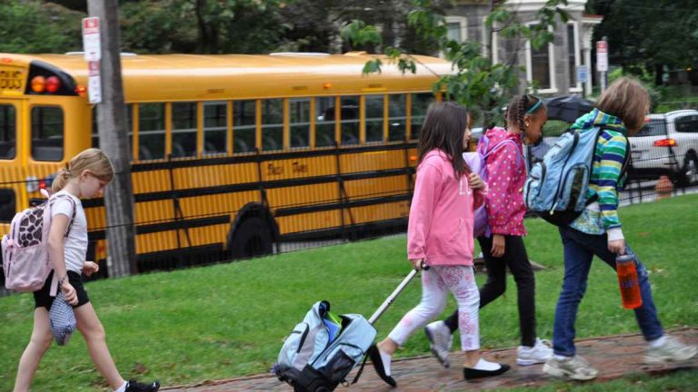 Students will return to schools across Northwest Philadelphia this week. (NewsWorks, file art)