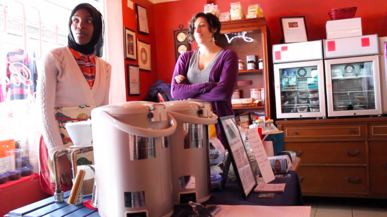 The Monkey and The Elephant, a nonprofit cafe that employs former foster youth currently operates out of the Transfer Station in Manayunk. (Courtesy of The Monkey and The Elephant)