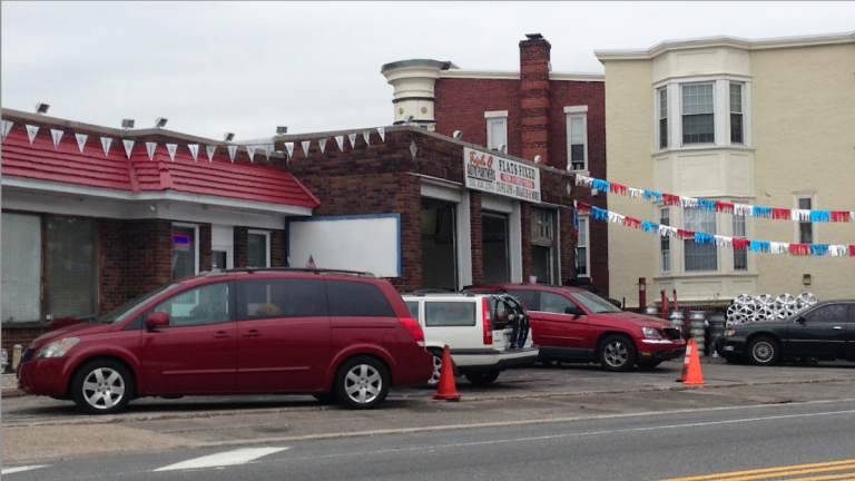 An ongoing debate between owner and community group regarding the proposed use of the shop space at 5134 Rochelle Ave. has reached a conclusion. (Brian Hickey/WHYY)
