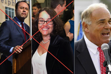 Ken Trujillo is out. Alba Martinez does not plan to run. But Ed Rendell is still in the theoretically whispered mix for a mayoral run. (NewsWorks, file art)