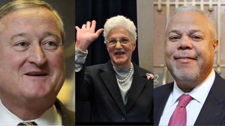 Jim Kenney got some big endorsements this week while Lynne Abraham sits in sixth position on a ballot topped by Tony Williams. (NewsWorks, file art)