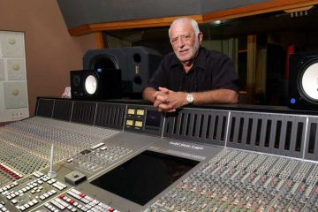 Joe Tarsia, now retired, is shown standing at the mixing board in Philadelphia's Sigma Sound Studios in 2003. Sigma Sound, the source of the echoing, orchestral 'Sound of Philadelphia' that topped the R&B charts in the 1970s, has closed. (AP file photo)