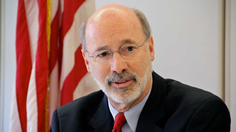 Pennsylvania Gov. Tom Wolf has twice postponed making a final decision on a budget compromise offered by GOP legislative leaders, leading to grousing among the Republicans. (AP file photo)