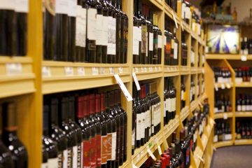 Inside one of Pennsylvania's state-run Fine Wine and Good Spirits stores. (Nathaniel Hamilton for WHYY)