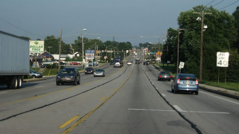 Suburban sprawl in Lancaster County.  (Image courtesy of Flickr user Ken Lund)