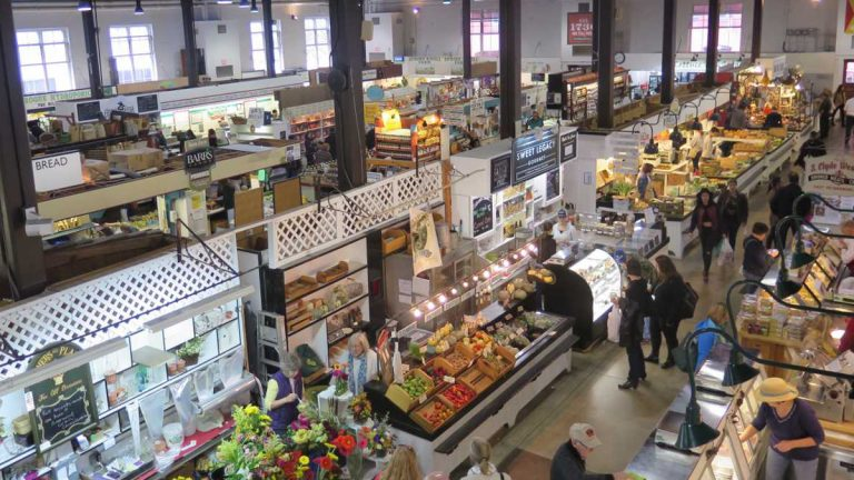 Lancaster Central Market is in the city's Community Revitalization & Improvement Zone. The program lets participating cities keep some state taxes to fund redevelopment. (Emily Previti/WITF)