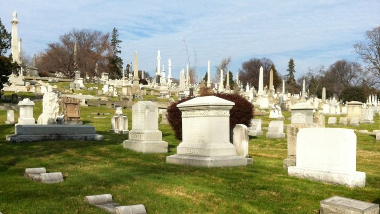 Laurel Hill Cemetery is a favorite among paranormal investigators. (Emily Brooks/for NewsWorks)