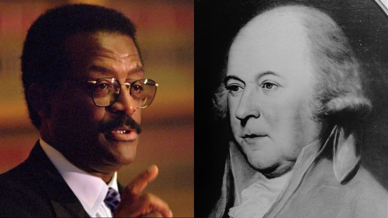 Temple University's Trial Lawyer Hall of Fame honors attorneys from Johnnie Cochhran to John Adams. (AP file photos)