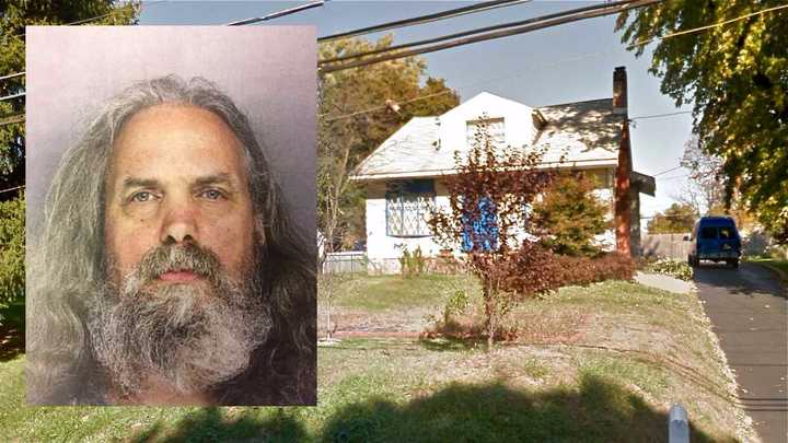 Lee Kaplan was charged with aggravated indecent assault after police found 12 girls ranging in age from 6 months to 18 in his Feasterville