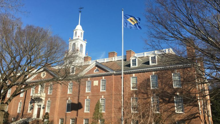 Delaware lawmakers will have a bigger financial hole to dig out of when they return to Dover next month. (Mark Eichmann/WHYY)