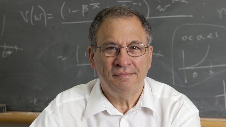 Simon A. Levin.  (Image courtesy of Princeton University)