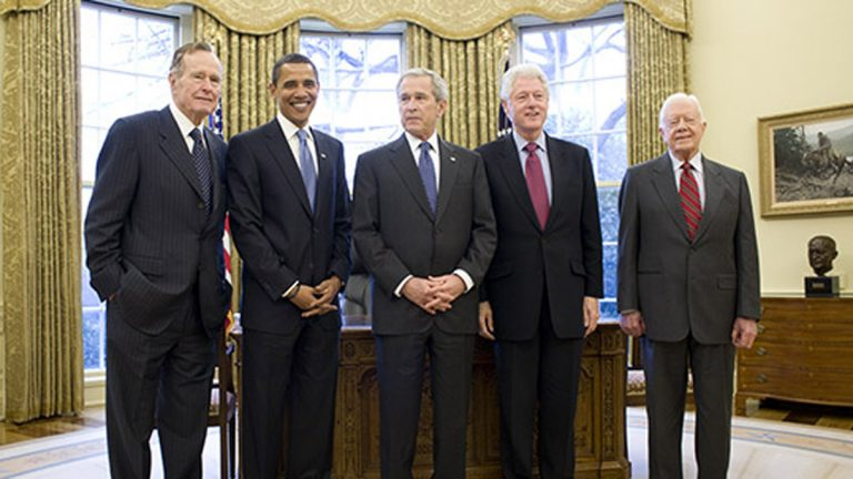 Former presidents of the United States