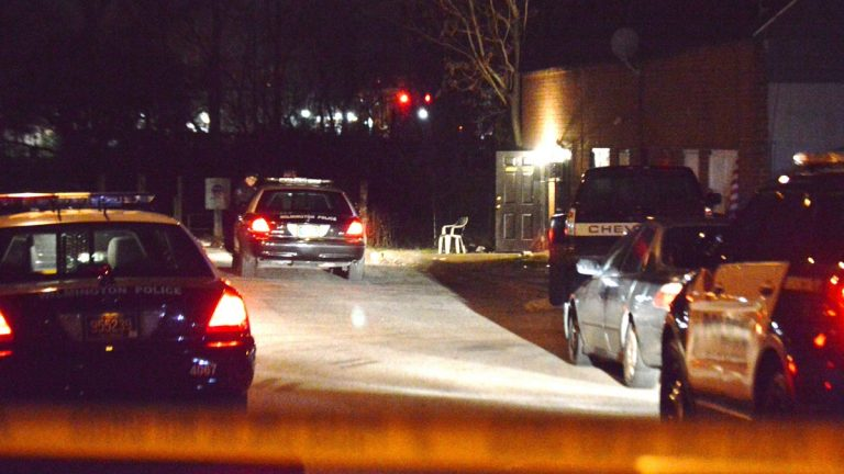 Wilmington police were called to a garage in the 1200 block of N. Locust St. for reports of a