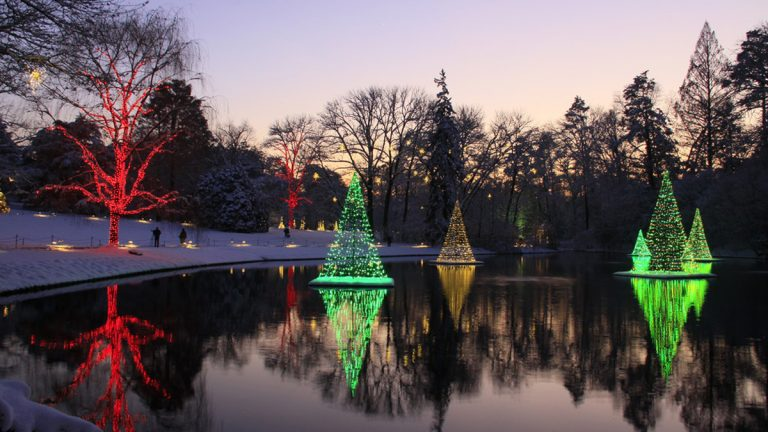 A Longwood Christmas, through January 11 at Longwood Gardens. (Photo courtesy of Longwood Gardens)