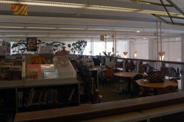 The inside of Lovett Memorial Library in Mt. Airy. (Emily Brooks/for NewsWorks, file)