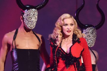 Madonna performs at the Grammy's in February. (AP, File)