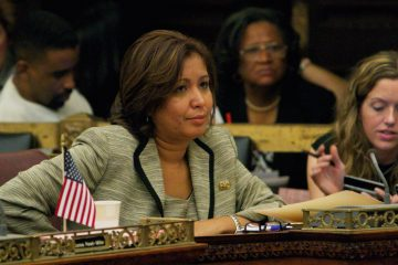 Maria Quinones-Sanchez, Philadelphia's only Latino councilwoman, worked to end the city's cooperation with Immigration and Customs Enforcement (ICE). (NewsWorks file photo)