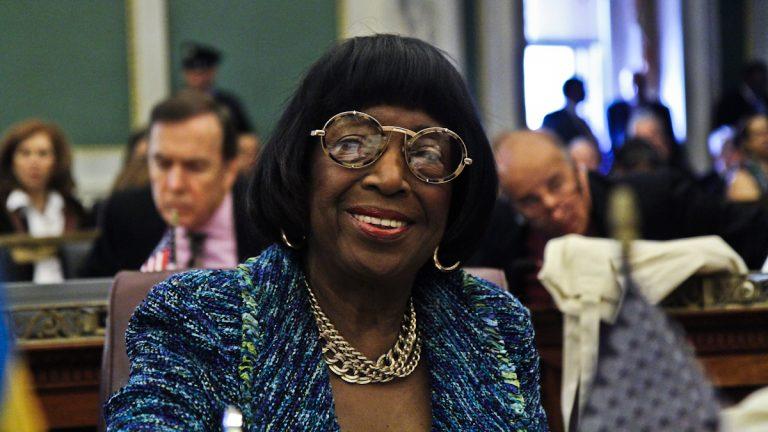 Marian Tasco has served on Philadelphia City Council since 1988. (Kimberly Paynter/WHYY)