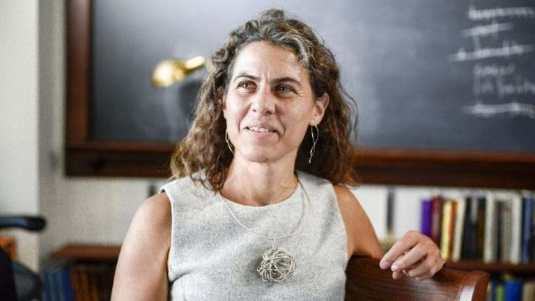 Princeton University professor Marina Rustow is a social historian of the medieval Middle East, working primarily with sources from the Cairo Geniza, a cache of more than 300,000 folio pages preserved in an Egyptian synagogue. (Image courtesy of MacArthur Foundation)