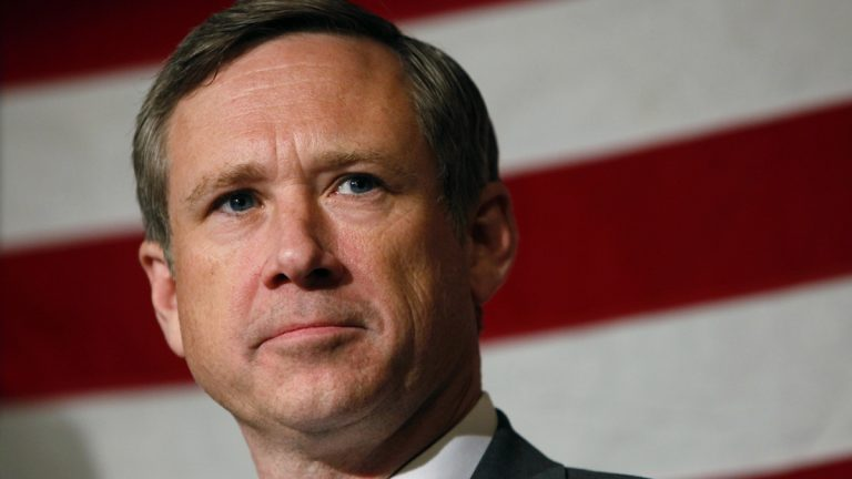 Illinois Republican Sen. Mark Kirk became the second Republican senator and the fourth GOP member of Congress to support gay marriage in April of 2013. (AP Photo/Nam Y. Huh, file)