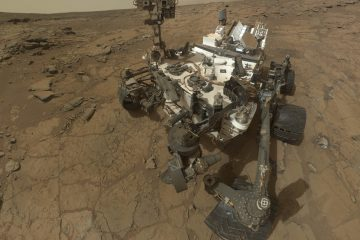 Evidence of an ancient freshwater lake has been discovered on Mars. Researchers say the evidence supports the idea that the lake might have been hospitable to life. (AP Photo/NASA)