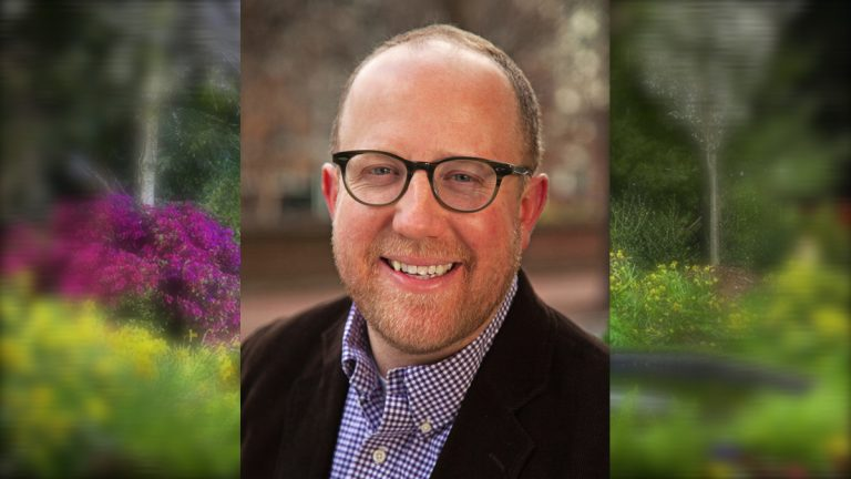 Matt Rader, a management consultant at McKinsey & Company, will serve as  president of the Philadelphia Horticultural Society beginning January 11. (Photo courtesy of PHS)