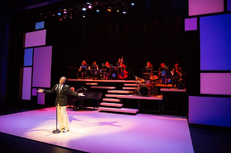 Maurice Hines performing at the Delaware Theatre Company (photo courtesy of DTC)