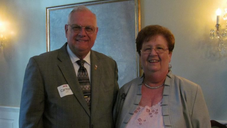Mayor Carleton Carey, seen here with his wife Blanche. (photo courtesy Flickr/DelawareGovernor)