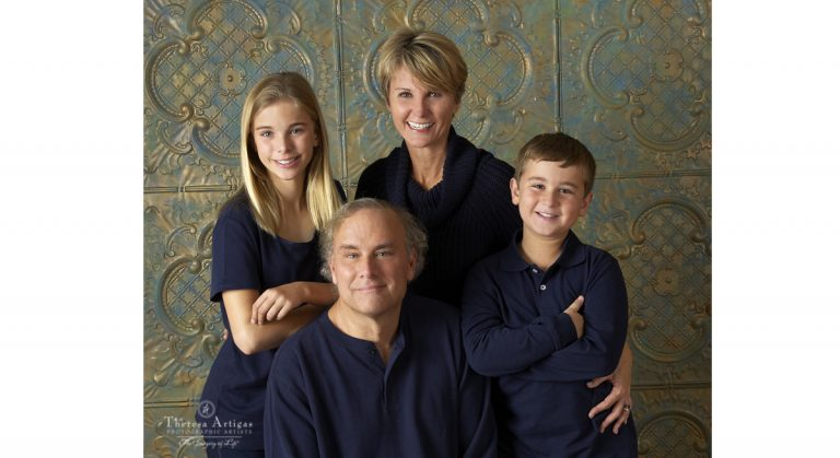 Portrait of the McHugh family, courtesy of Theresa Artigas Photography (posted with permission of the McHugh family).