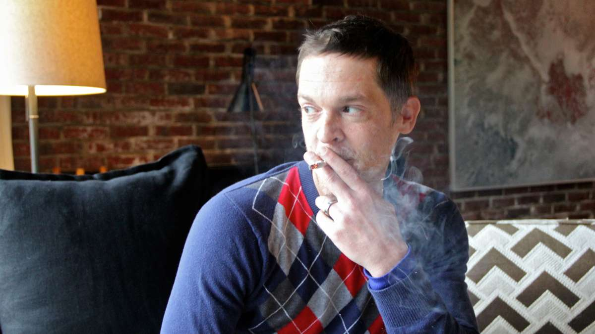 Jay Lassiter smokes medically prescribed marijuana. It is part of a regimen of drugs