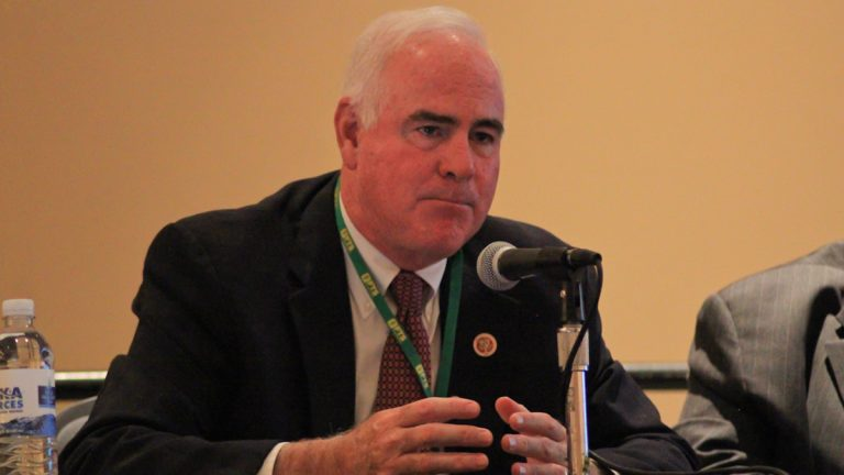U.S. Rep. Patrick Meehan is facing competition in the April 26 Republican primary election from Stan Casacio, a real estate developer. Two Democrats also are running for their party's nomination to run for the 7th Congressional District seat. (Kimberly Paynter/WHYY)
